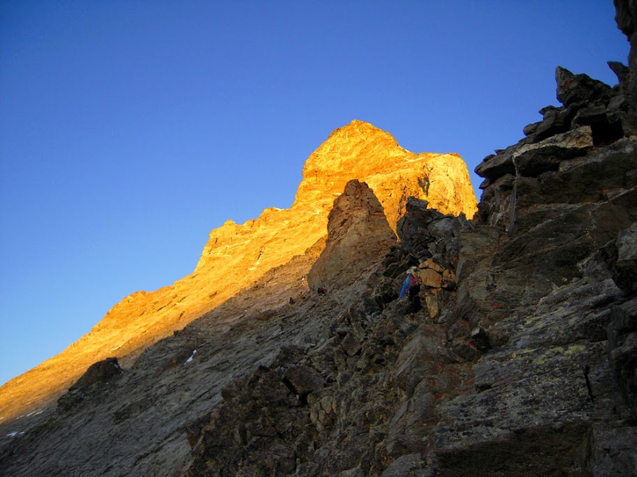 Monte Rosa i Matternhorn