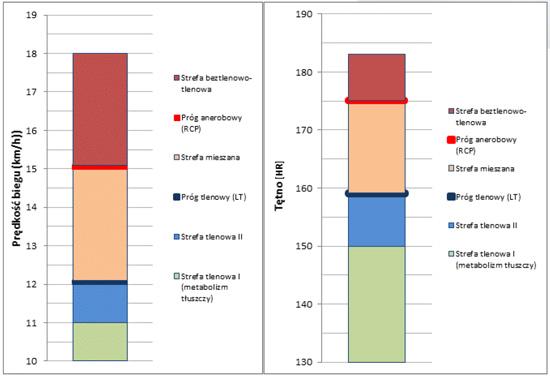przykładowy wykres badania wydolnościowego