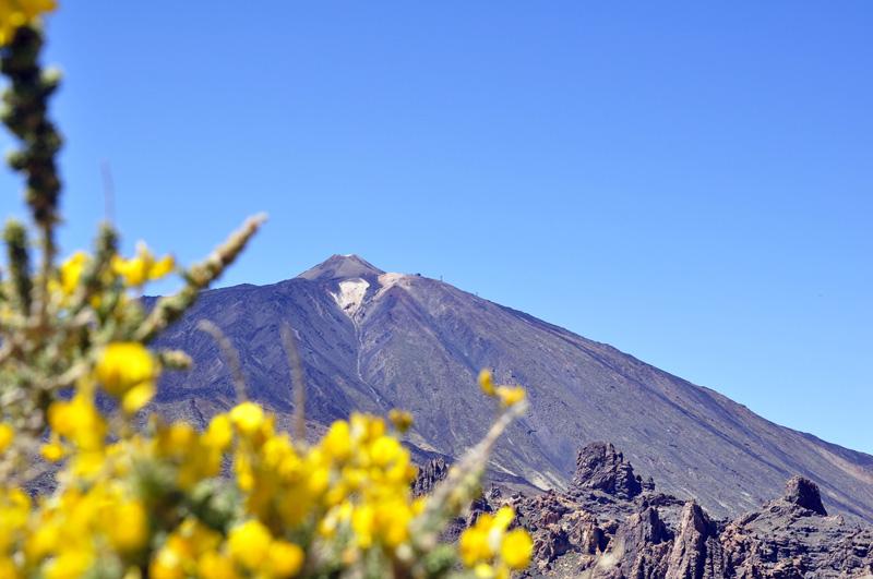 bieganie po wulkanie el Teide 3 718 m