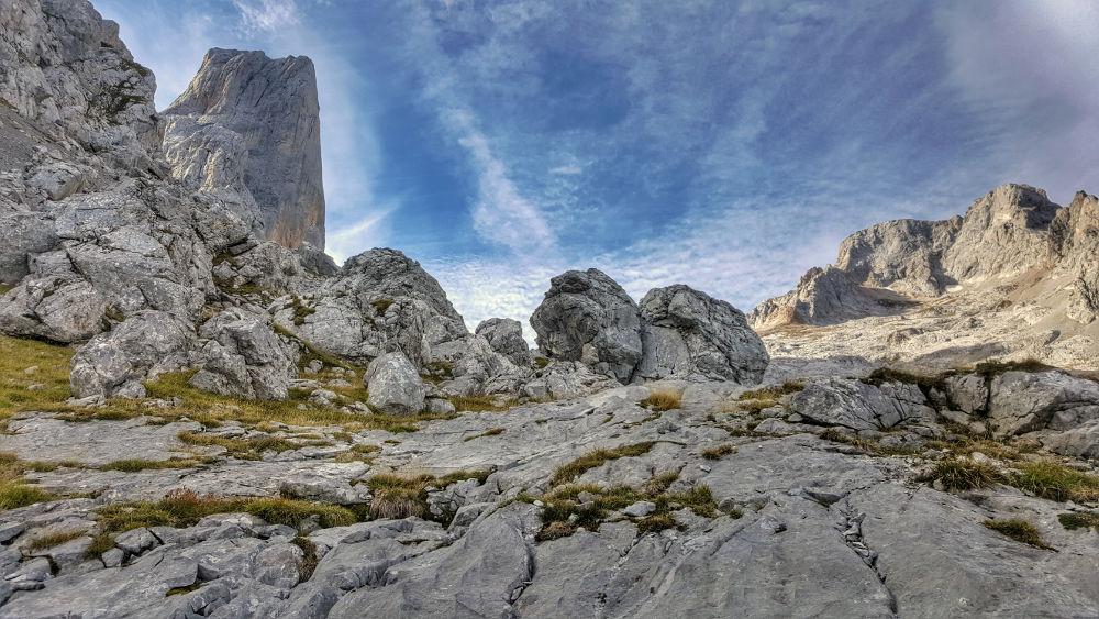 Picos de Europa wapienne góry północnej Hiszpanii